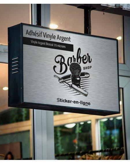 Adhésif Vinyle Argent