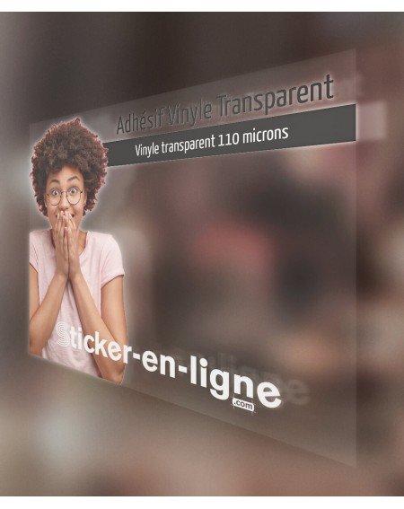 Adhésif Vinyle Transparent