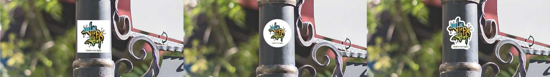 Imprimeur stickers autocollant vinyle pas cher Impression personnalisée
